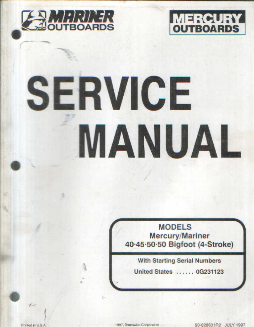 mariner 25hp 2 stroke manual