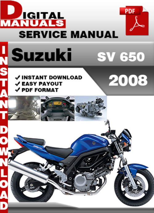 2007 suzuki sv650 owners manual pdf