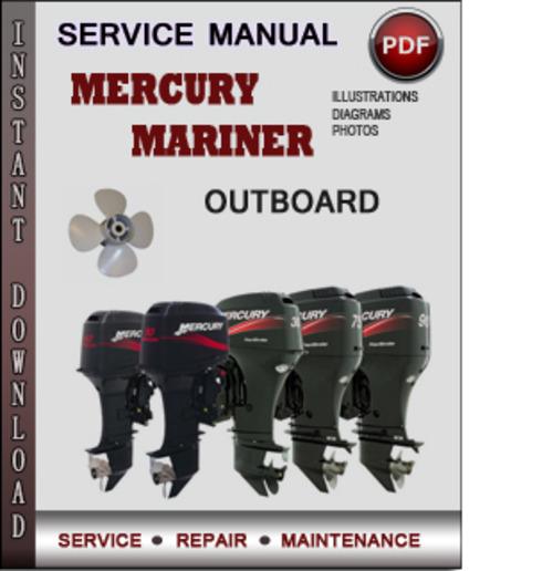 1998 mercury 9.9 outboard manual