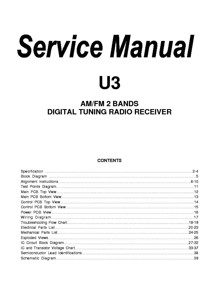 sangean ats 909 service manual