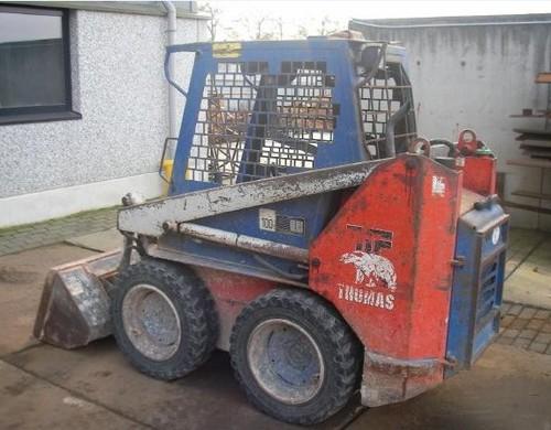 thomas skid steer repair manual