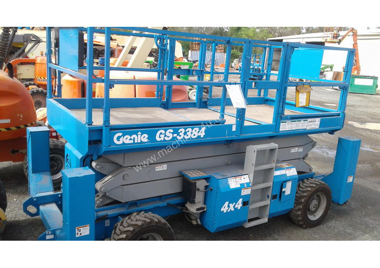 genie scissor lift service manual