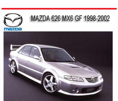 mazda 626 gf workshop manual