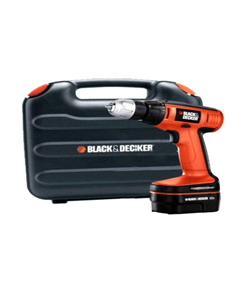 black and decker 12v drill manual