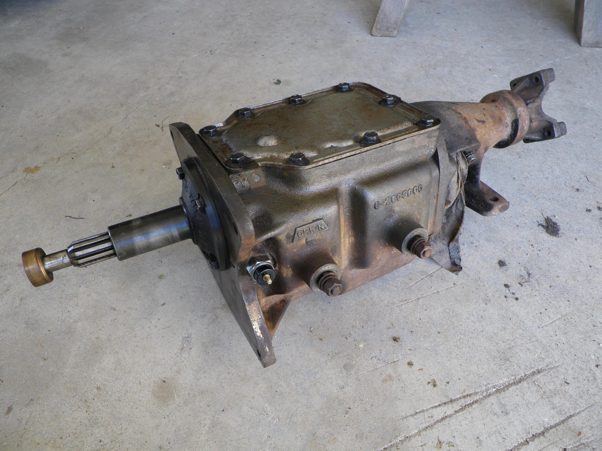 6 speed manual transmission for ford 460