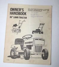 murray 38 riding mower manual