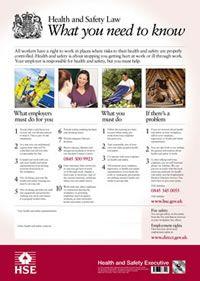 manual handling leaflet for employees
