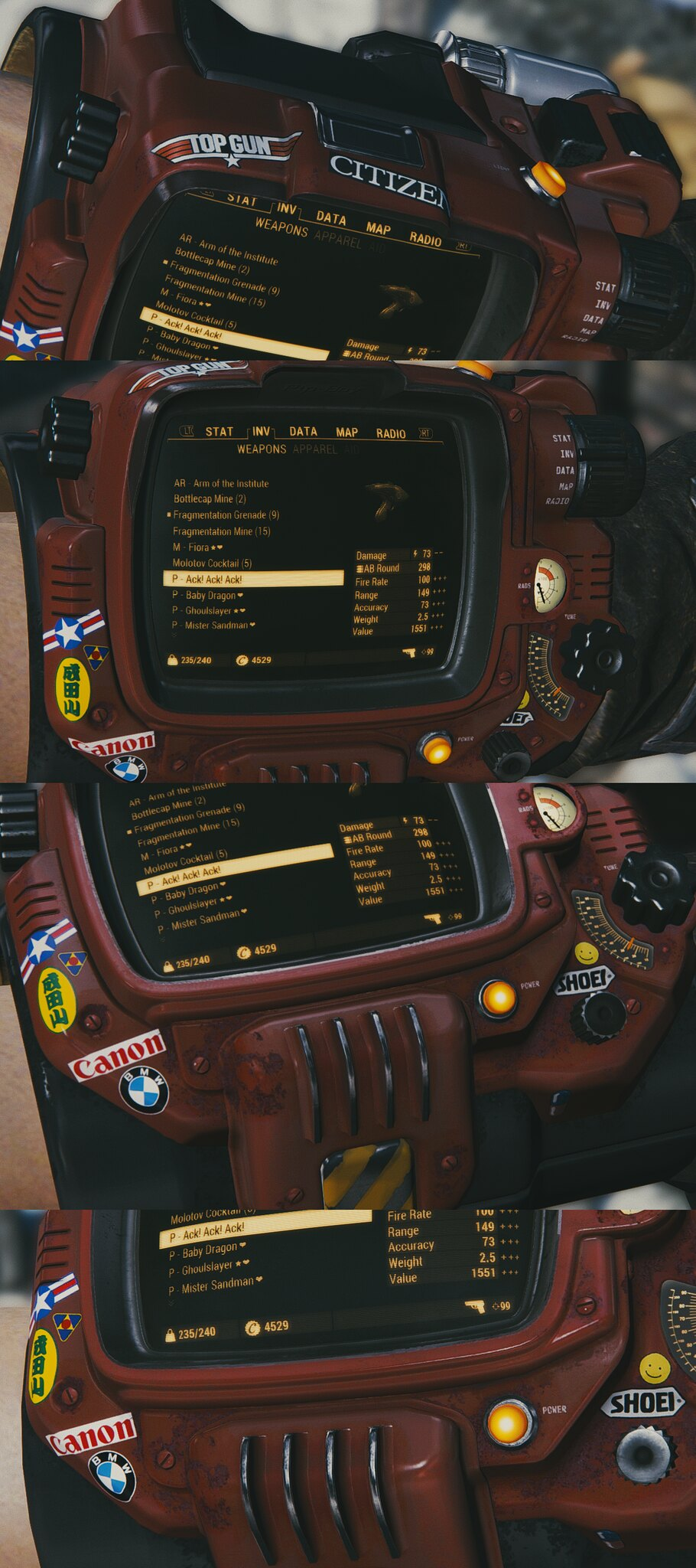 how to install fallout 4 mods manually