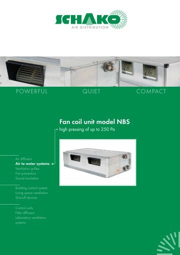 trane fan coil units manual