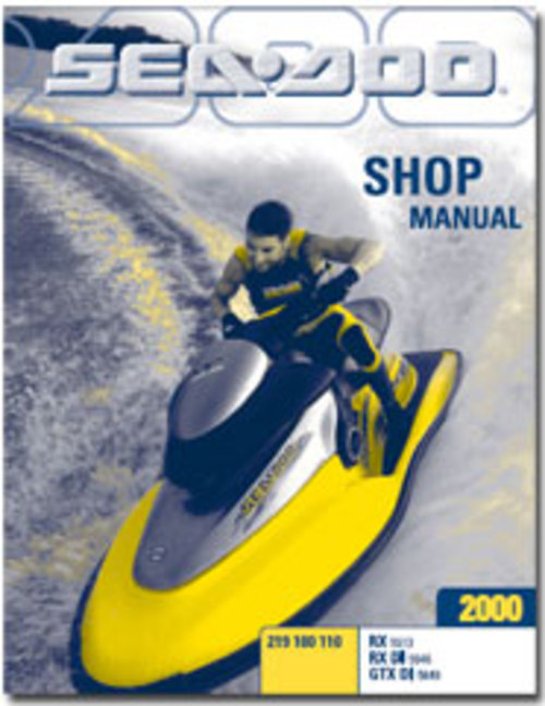 2002 seadoo rx di service manual