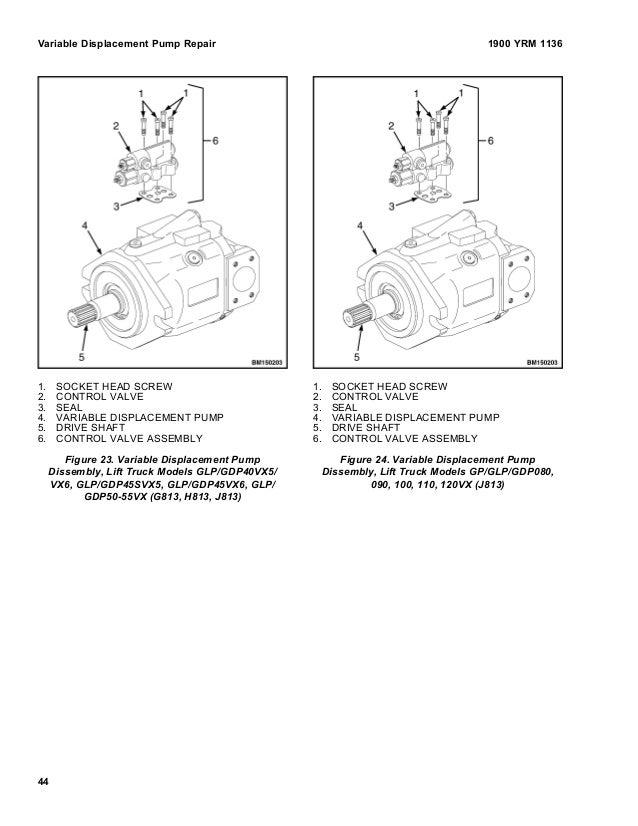 yale lift truck service manual