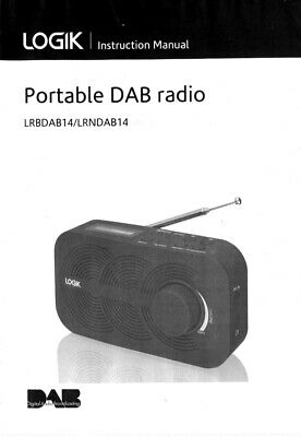 logik dab radio l55dab15 manual