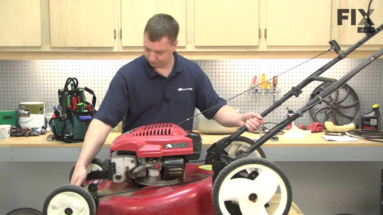toro lawn mower repair manual