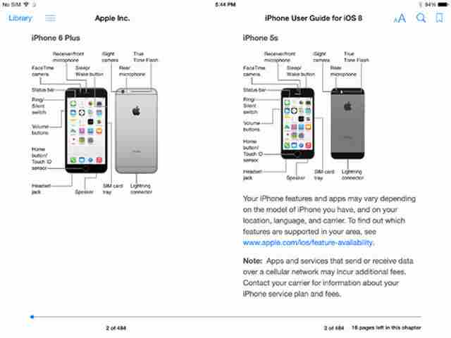 apple iphone 5 instruction manual