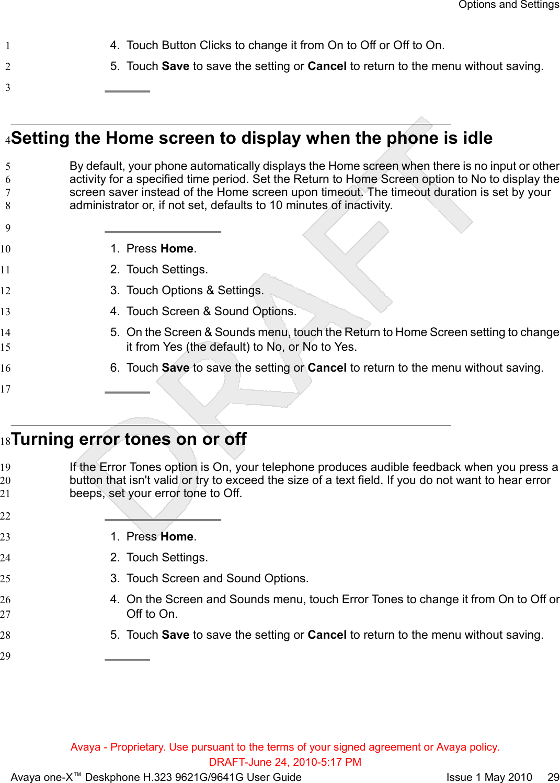 avaya one x phone manual