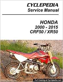 honda xr50 manual free download