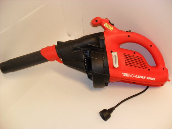 black and decker leaf hog bv2500 manual