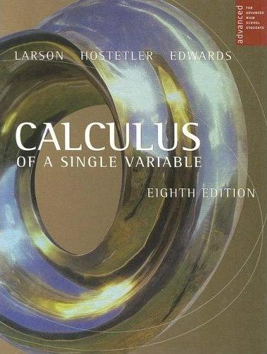 calculus 10th edition larson solutions manual pdf