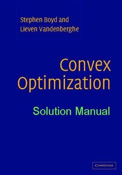 convex optimization boyd solution manual