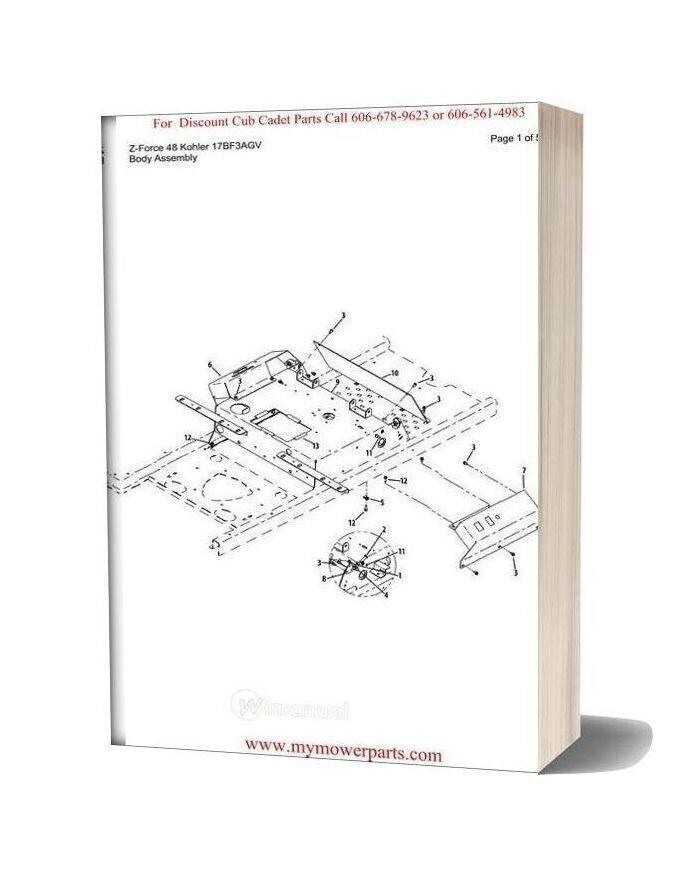 Cub Cadet Lt1000 Slt1500 Gt1500 Ztr U0026 Z Manual Guide