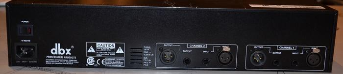 dbx 231 graphic equalizer manual