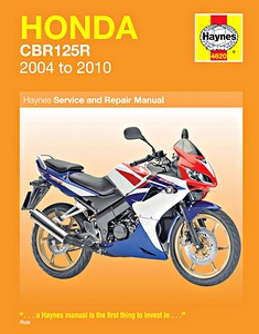 honda cbr 125 owners manual