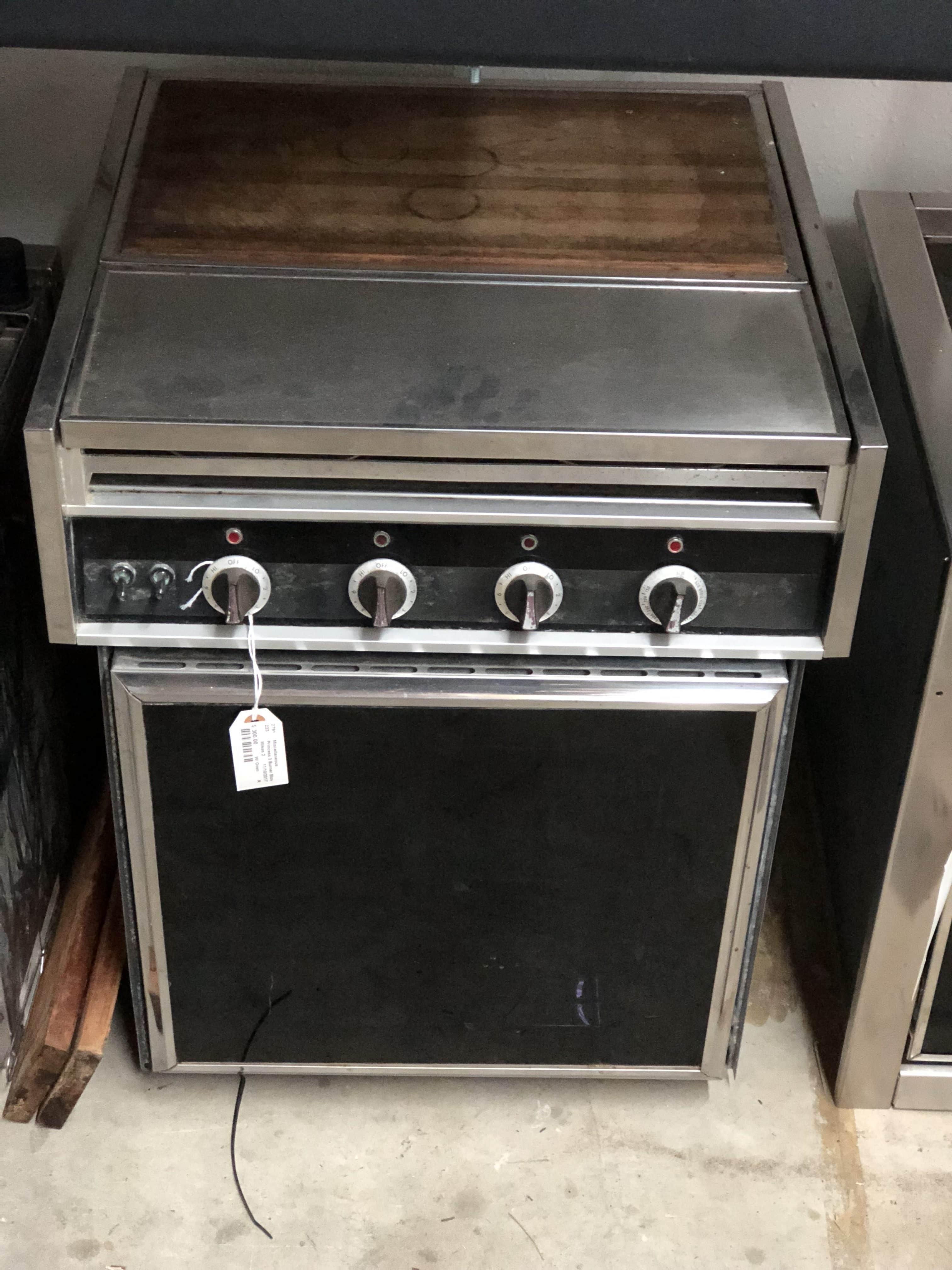 seaward princess electric stove manual
