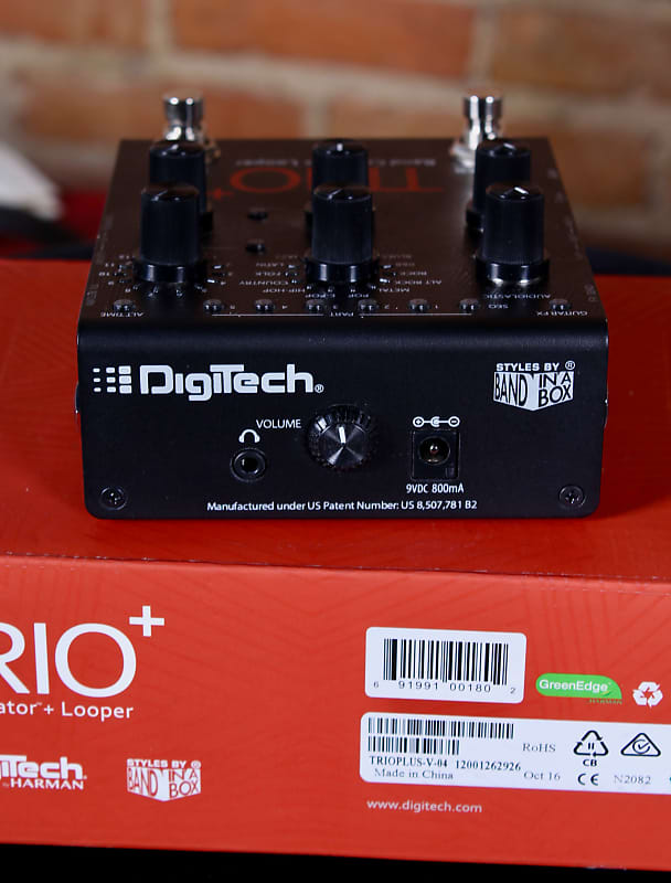 digitech trio band creator manual