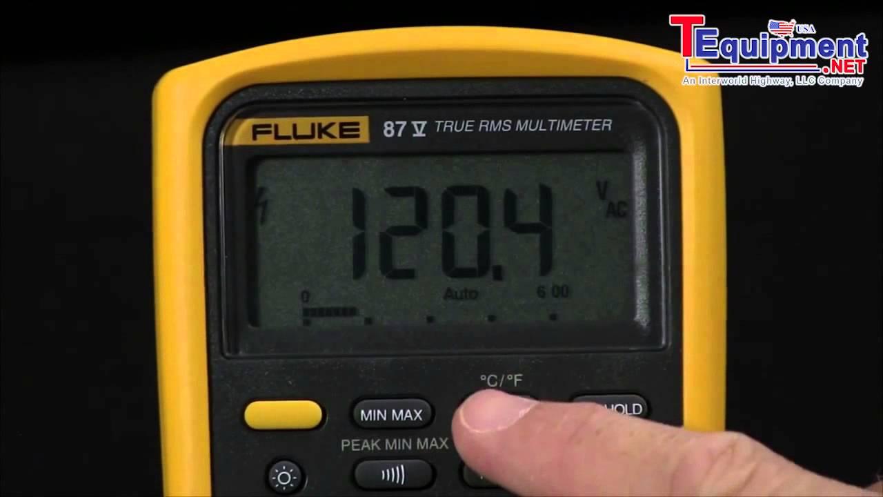 fluke 77 series ii multimeter user manual