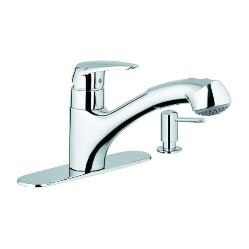 grohe kitchen faucet installation manual