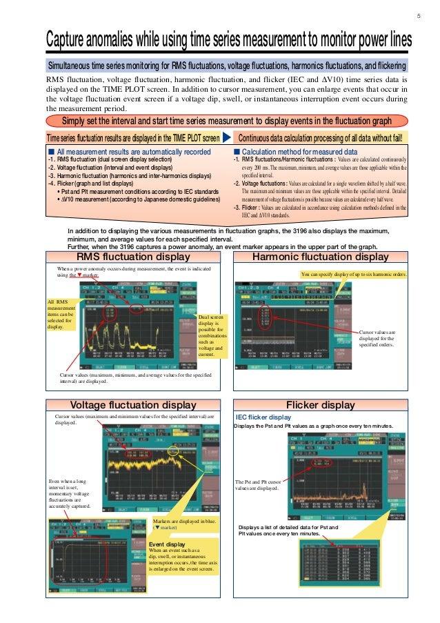 hioki 3198 power quality analyzer manual