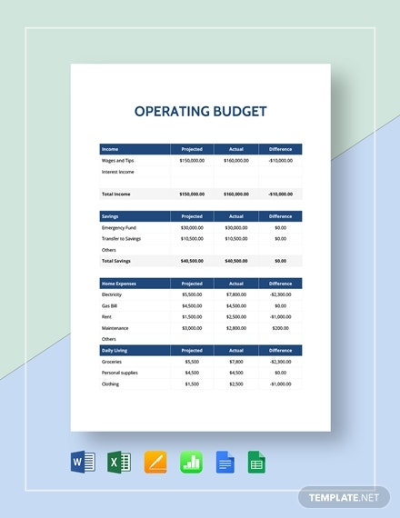 it operations manual template free