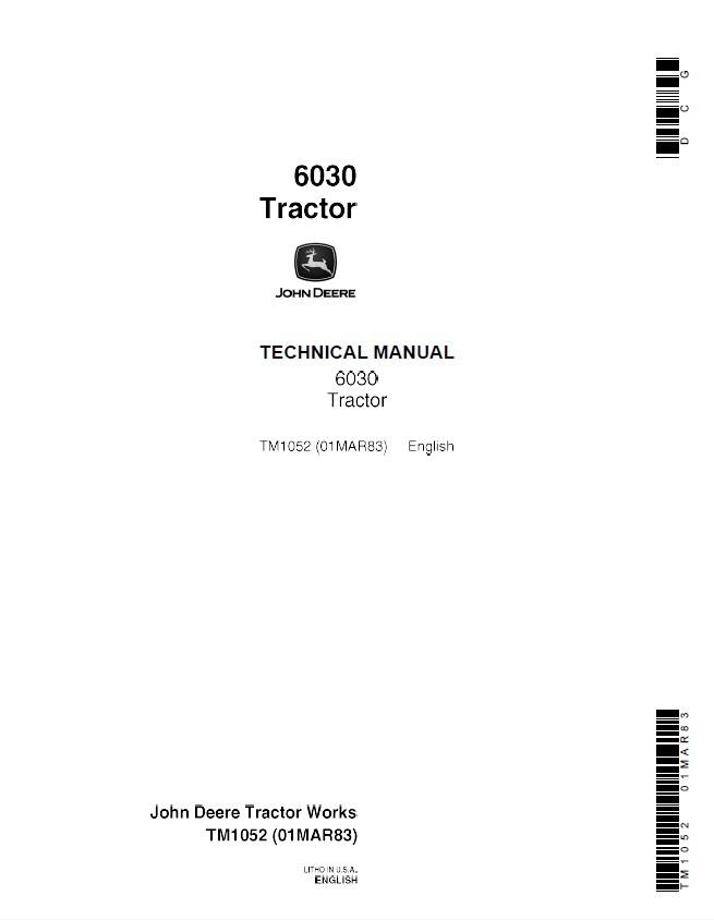 john deere 2040s workshop manual