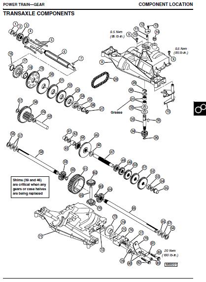 john deere lt166 owners manual