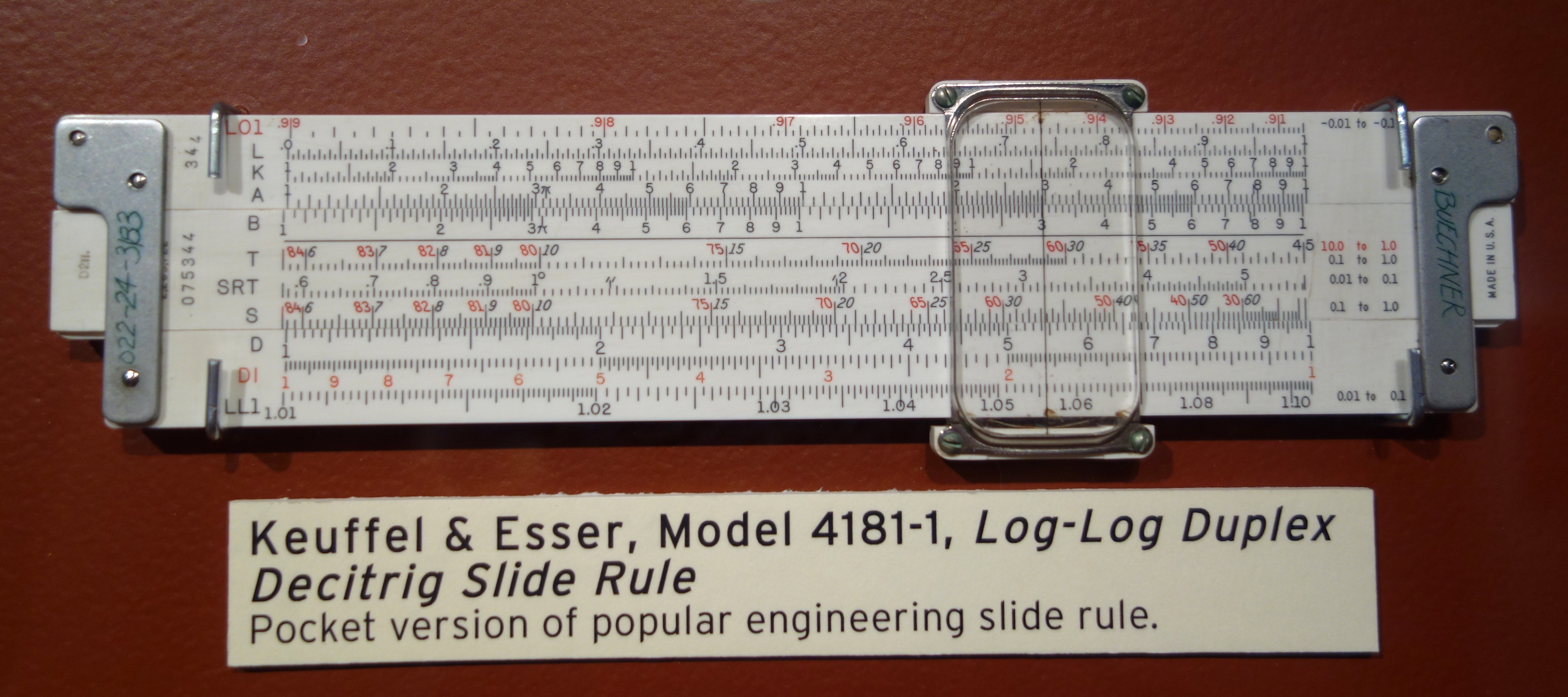 keuffel & esser slide rule manual