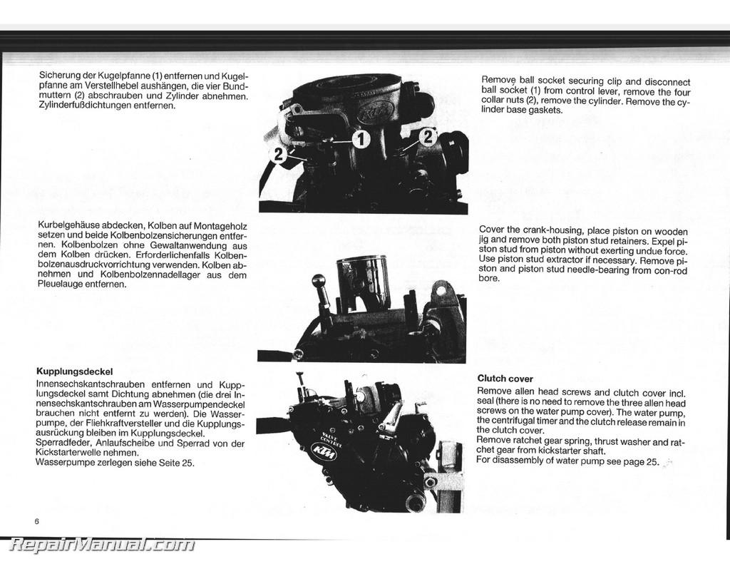 ktm 200 exc service manual
