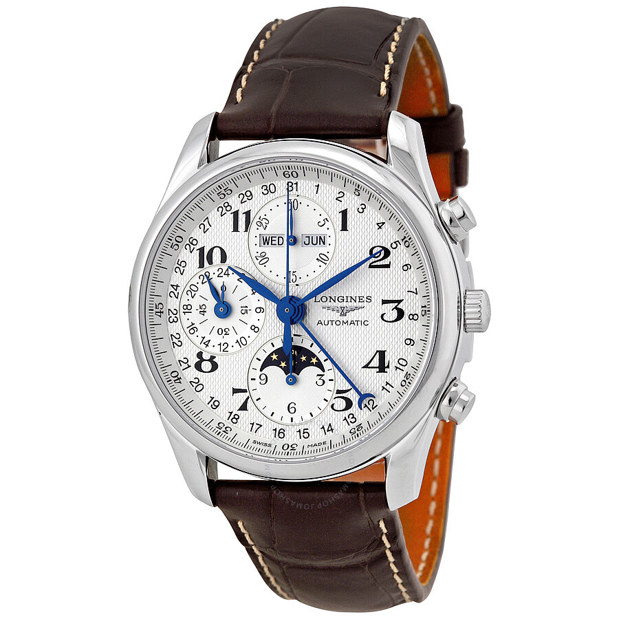 longines master collection moonphase manual