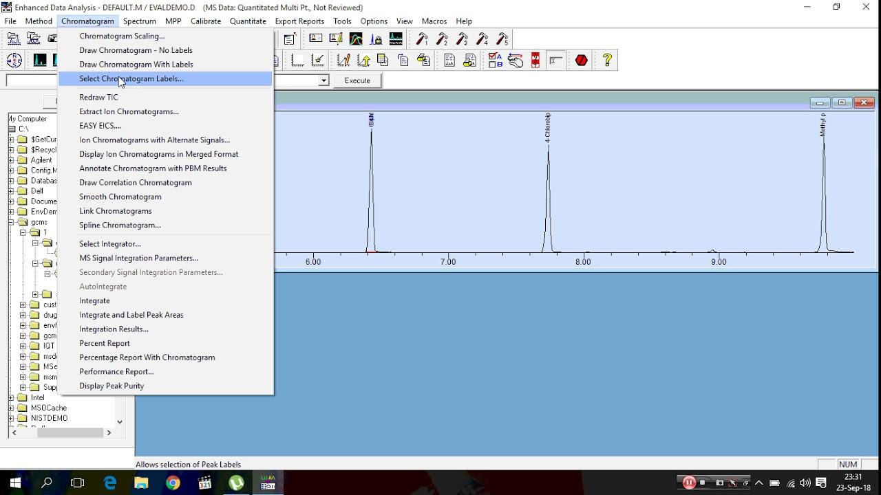 msd chemstation data analysis manual