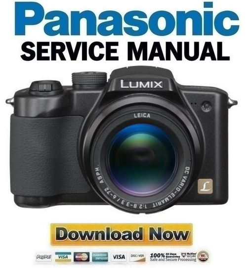 panasonic lumix dmc fz5 manual