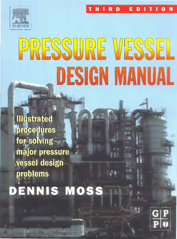 pressure vessel design manual 4th edition by dennis moss pdf