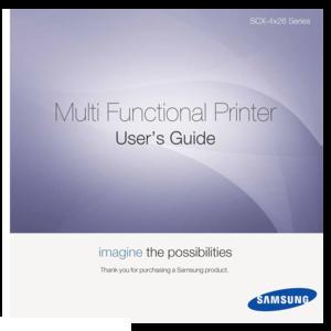 samsung printer scx 3405fw user manual