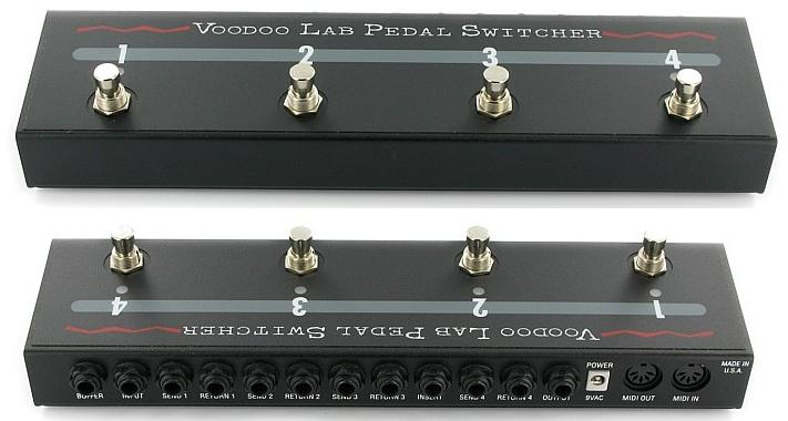 voodoo lab pedal switcher manual